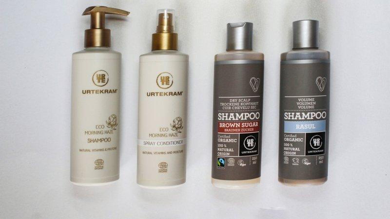 Shampoos von Urtekram