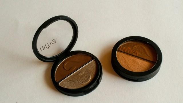 Inika Pressed Mineral Eye Shadow Duos in
