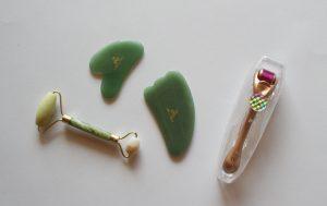 Microneedling Glanz und Staub