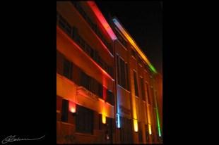 Edifice d'Electricité De France, Lyon, août 2003.