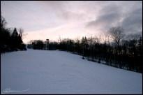 Sunset on ski... (Le Relais, Lac Beauport, janvier 2007)
