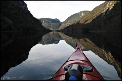 Dans la vallée... (Hautes-Gorges de la rivière Malbaie, Québec, mai 2008)