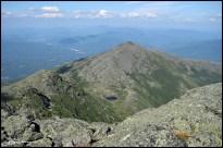 Mt Madison, vu du Mt Adams. (New Hampshire, USA, août 2009)