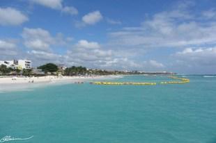 Arrivée à Playa del Carmen, après le bateau-taxi de Cozumel au continent.