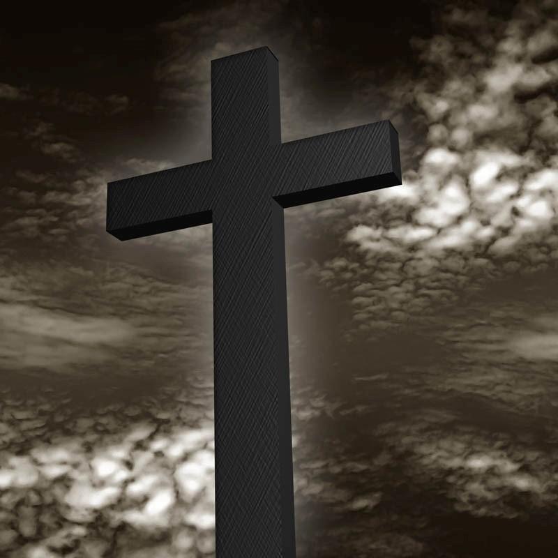 Kreuz Mit Einem D 252 Steren Hintergrund Bilderwelt Bei