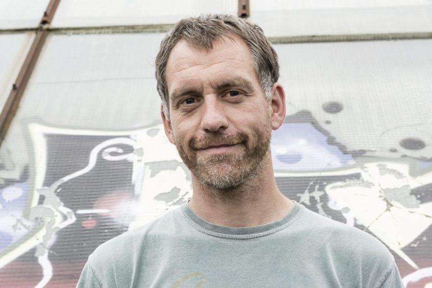Das Bild zeigt Manuel Emmelmann, Teammitglied Festival Stadttfinden