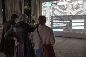 """Festival STADTTFINDEN - Projekt """"Subjektive Transformationsatlas"""" (Foto (c) Michél Bötig)"""