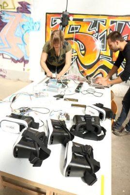"Festival STADTTFINDEN - Projekt ""Urban AR Lab"" (Foto (c) Christin Pomplitz)"