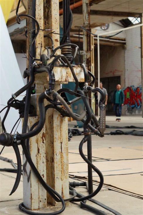 "Festival STADTTFINDEN - Projekt ""Feed Back"" (Foto (c) Josephine Bock)"