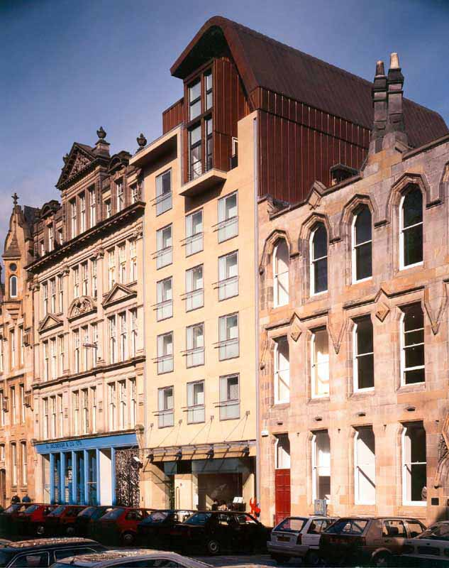 Brunswick hotel glasgow merchant city building glasgow for Design hotel braunschweig