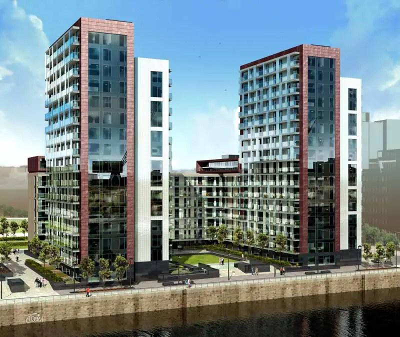 Glasgow Apartments: Glasgow Harbour Phase 2 : Apartments