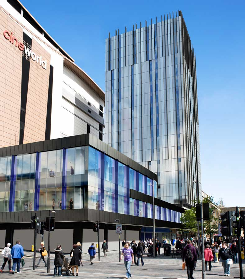 St andrew house premier inn glasgow glasgow architecture for Design hotel glasgow