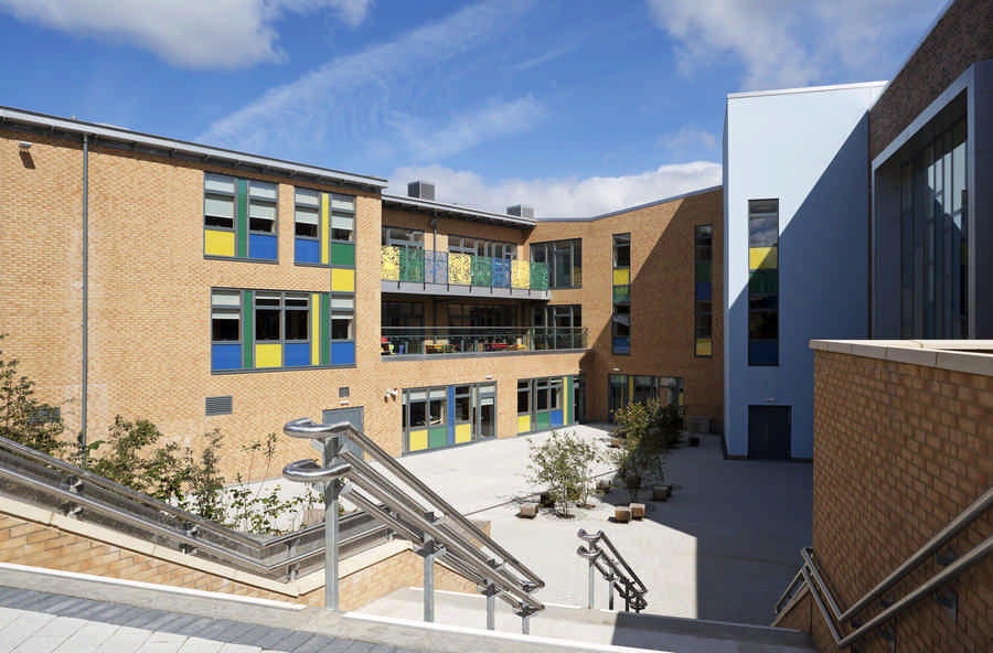 Tinto primary school glasgow education building for Design consultancy glasgow
