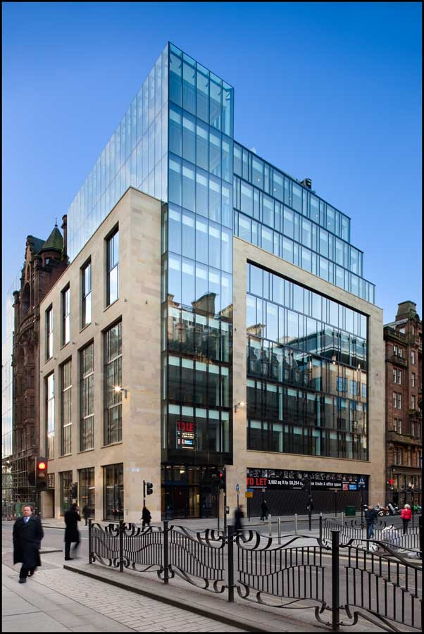 Waterloo Street, Glasgow Offices Building - Glasgow ...
