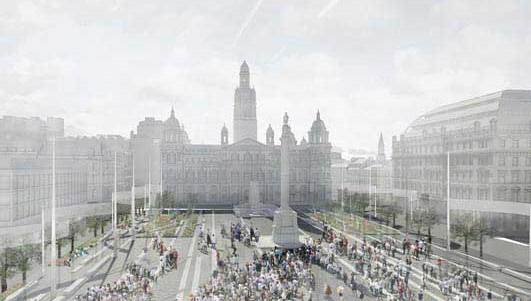 George Square Glasgow design