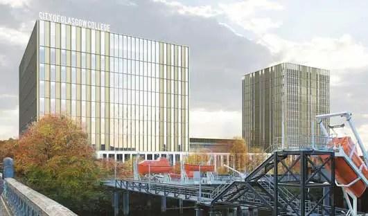City of Glasgow College Building Design interior