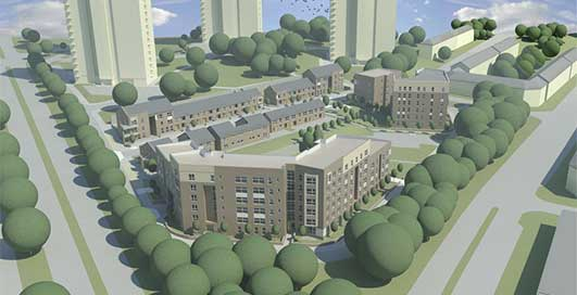 Kingsway Regeneration Project Glasgow