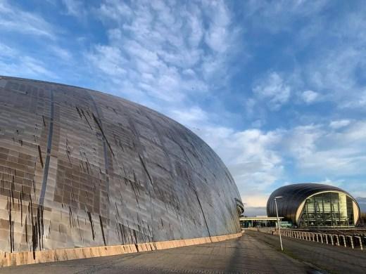 Glasgow Science Centre and Imax cinema