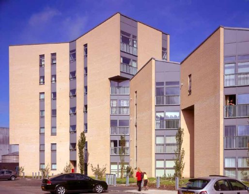New Gorbals homes at Crown Street by Page Park Architects