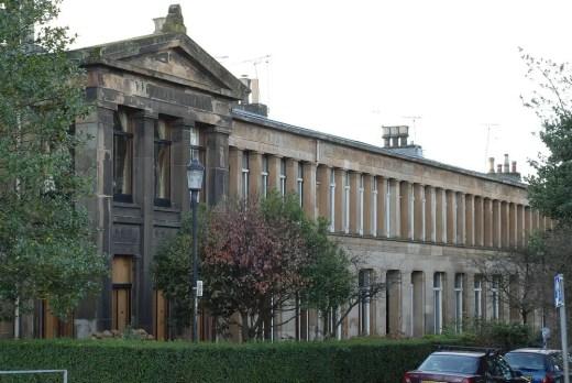 Moray Place Glasgow - former home of Greek Thomson, Strathbungo