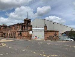 Fairfield Shipyard Govan workers entry