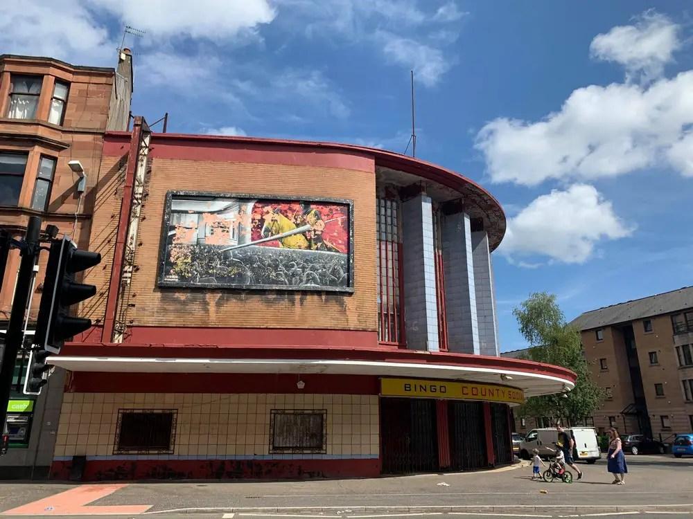 Former Lyceum Cinema Govan Glasgow