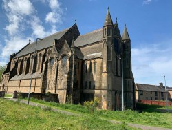 Govan Old Parish church buildng Glasgow