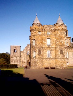 Palace of Holyroodhouse Scotland