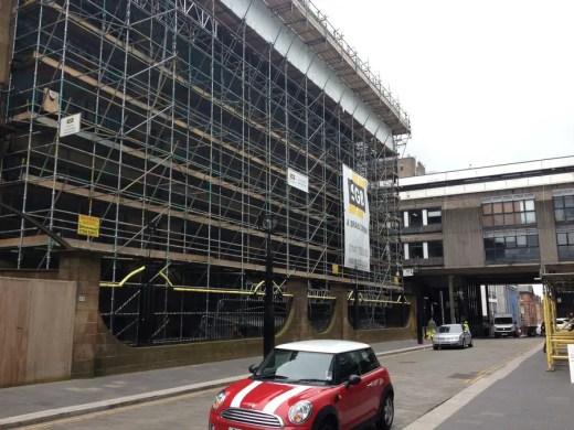 Glasgow Mac scaffolding