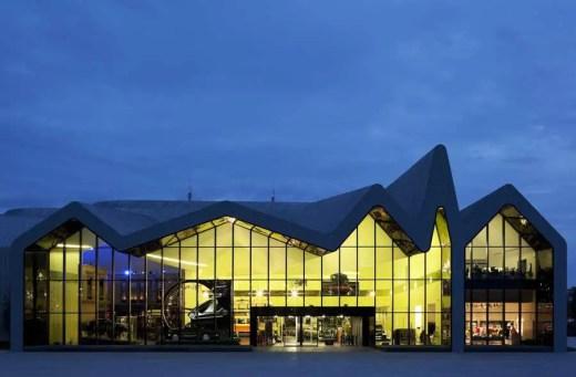 Glasgow Riverside Museum building