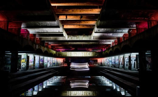 Hinterland, Cardross Seminary lighting