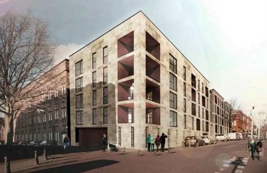 St Peter's School Housing in Partick