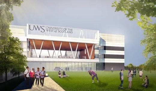 UWS Hamilton Campus building