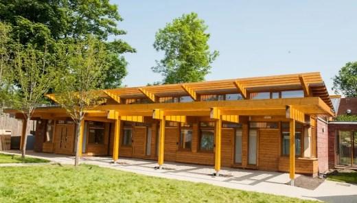 East Park school extension building
