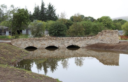 Glenlivet Distillery road-bridge