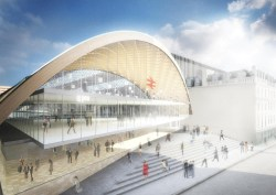 Glasgow Queen Street Station Building renewal