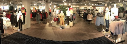 Marks and Spencer Port Glasgow Store interior