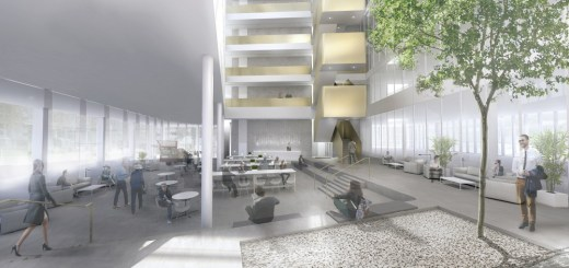 Inovo2 Glasgow Building interior design