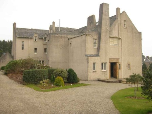 Rennie Mackintosh house in Helensburgh