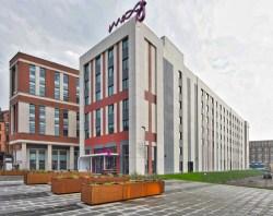 Moxy Hotel Glasgow building design
