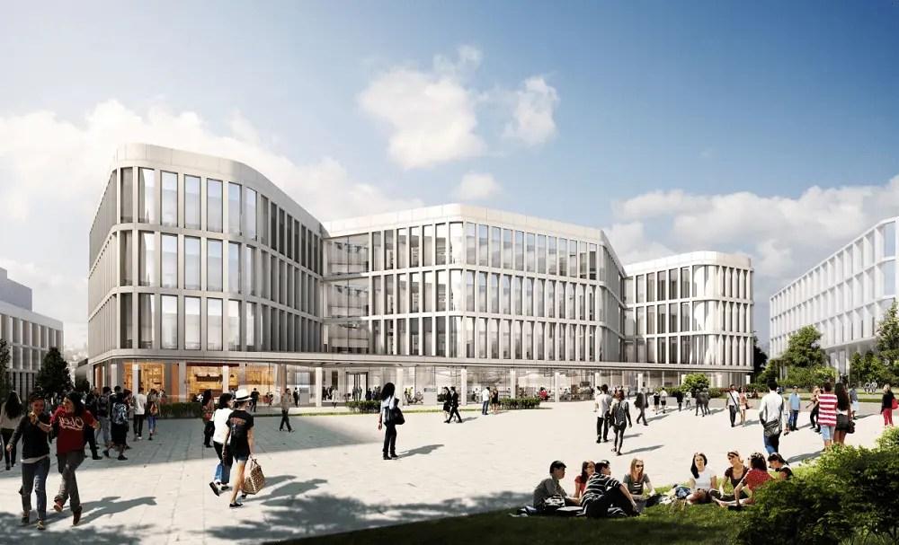 University of Glasgow Campus Masterplan design