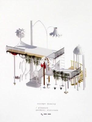 Mackintosh School of Architecture Degree Show 2019 design by Rasita Artemjeva