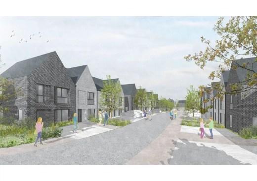 New homes in Cambuslang, East Whitlawburn, South Lanarkshire