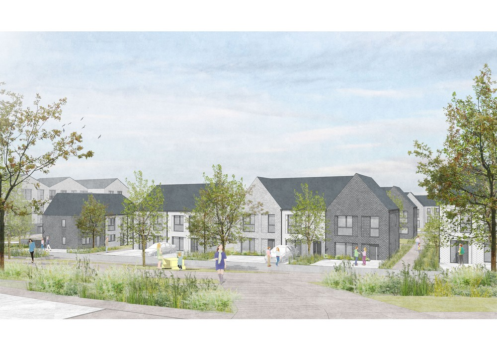 New homes in Cambuslang, South Lanarkshire