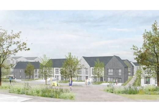 New homes in Cambuslang, South Lanarkshire