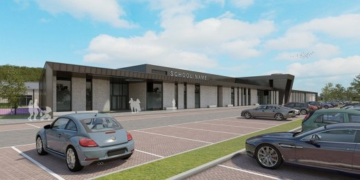ASN Camous Stevenston Building North Ayrshire