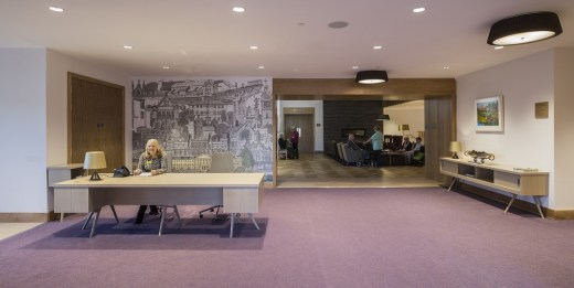 PPWH healthcare building in Scotland interior