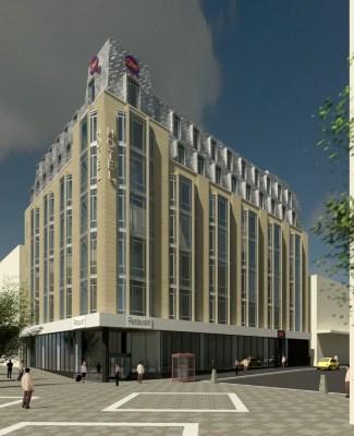 218-224 Sauchiehall Street Glasgow Service Hotel
