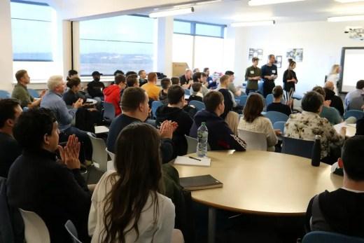 BILT Academy 2019, New College Lanarkshire Campus Scotland