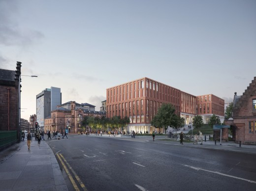 Postgraduate Teaching Hub and Business School building for University of Glasgow